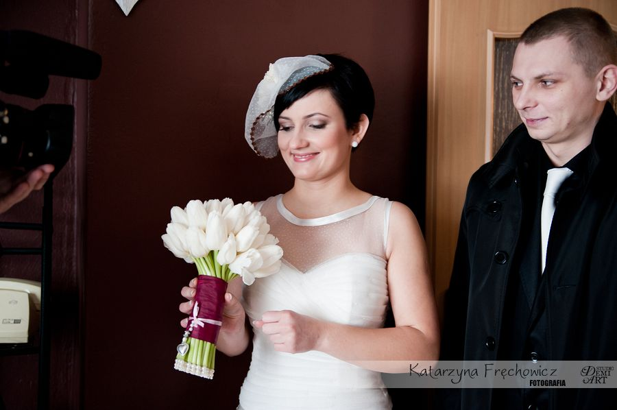 DSC_172 Fotografia ślubna Tychy - część pierwsza Przygotowania i Ceremonia
