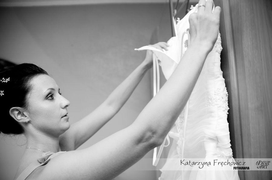 DSC_1131 Reportaż ślubny - przygotowania i ceremonia :)