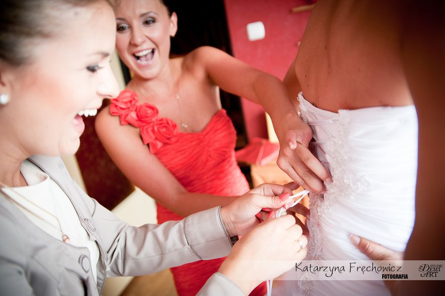 DSC_139 Reportaż ślubny - przygotowania i ceremonia :)