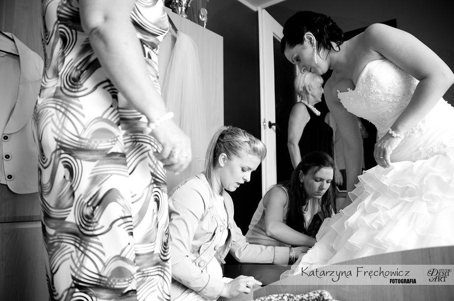 DSC_149 Reportaż ślubny - przygotowania i ceremonia :)