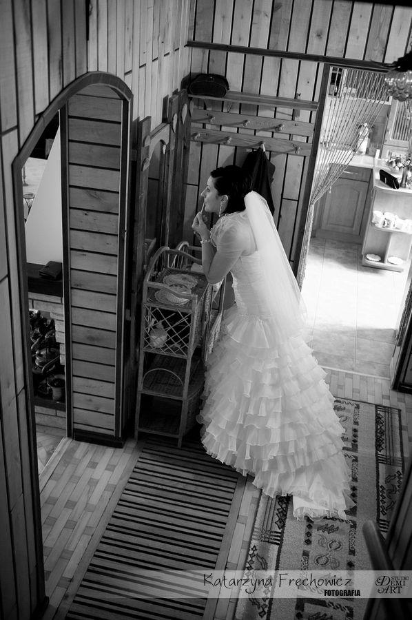 DSC_162 Reportaż ślubny - przygotowania i ceremonia :)