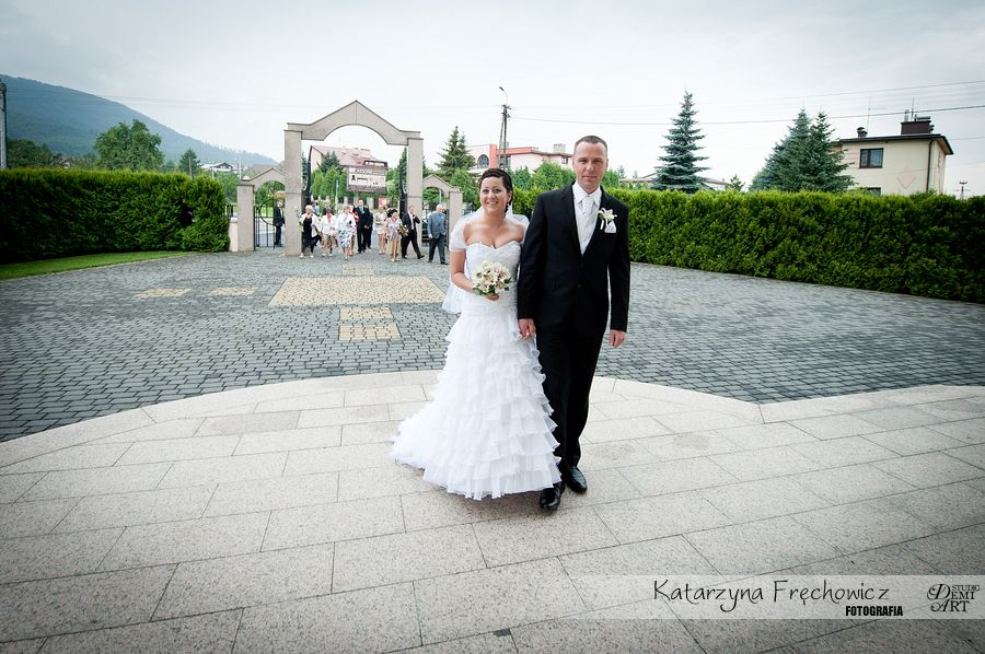 DSC_220 Reportaż ślubny - przygotowania i ceremonia :)