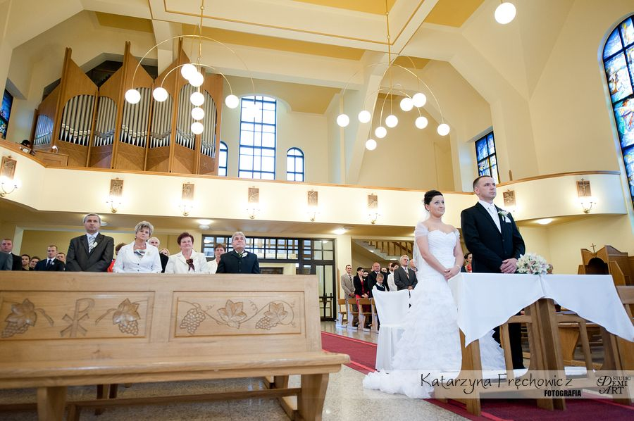 DSC_236 Reportaż ślubny - przygotowania i ceremonia :)