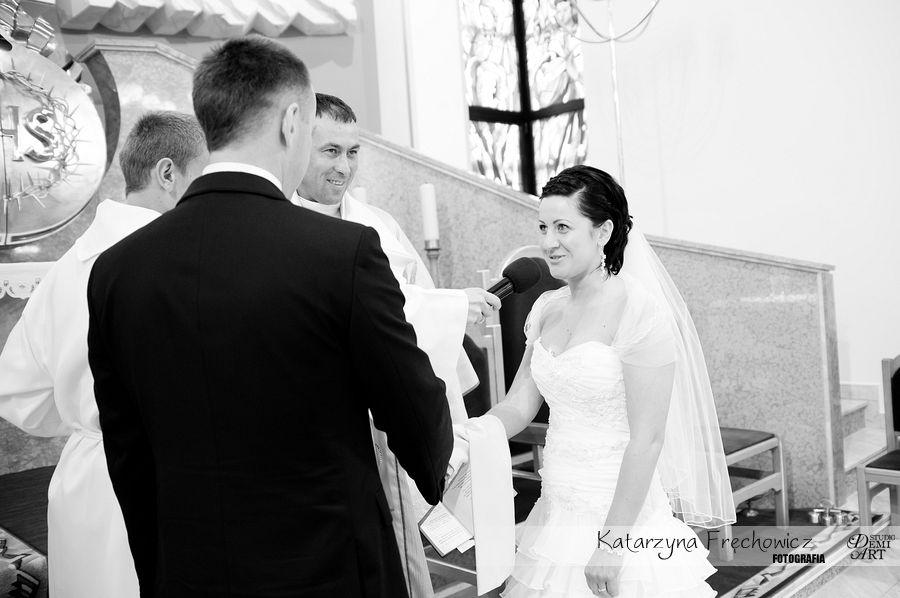 DSC_264 Reportaż ślubny - przygotowania i ceremonia :)