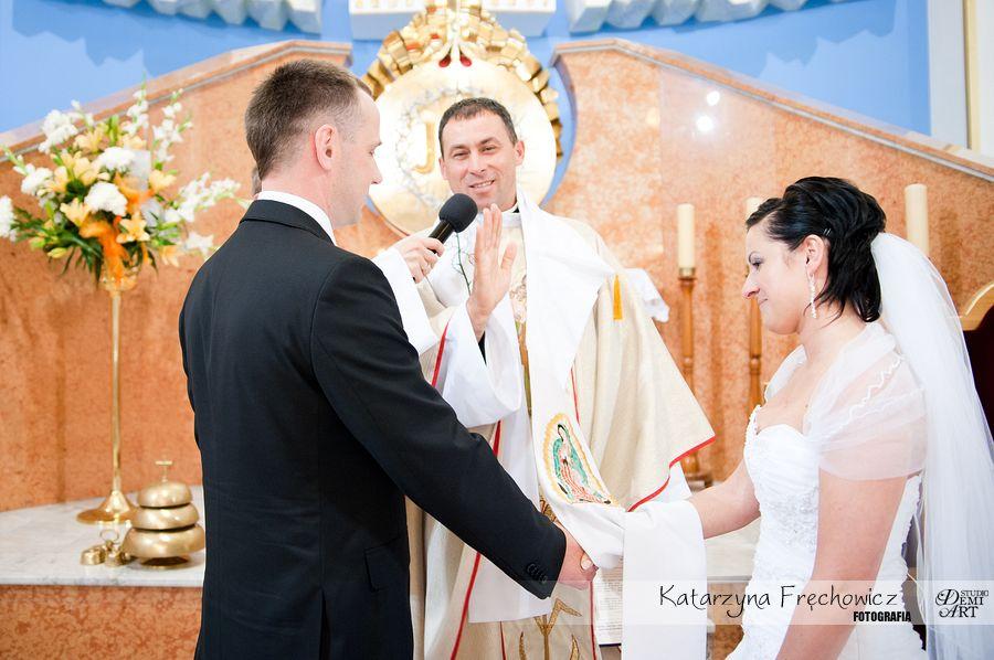 DSC_268 Reportaż ślubny - przygotowania i ceremonia :)