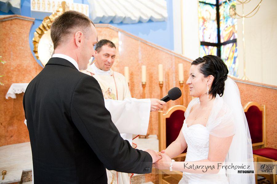 DSC_279 Reportaż ślubny - przygotowania i ceremonia :)