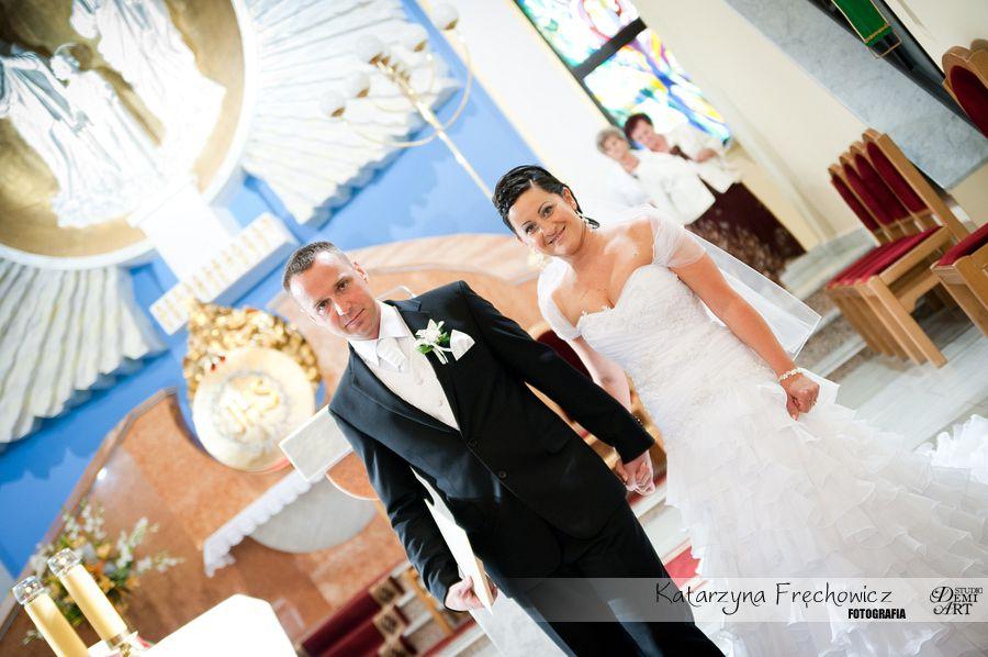 DSC_320 Reportaż ślubny - przygotowania i ceremonia :)