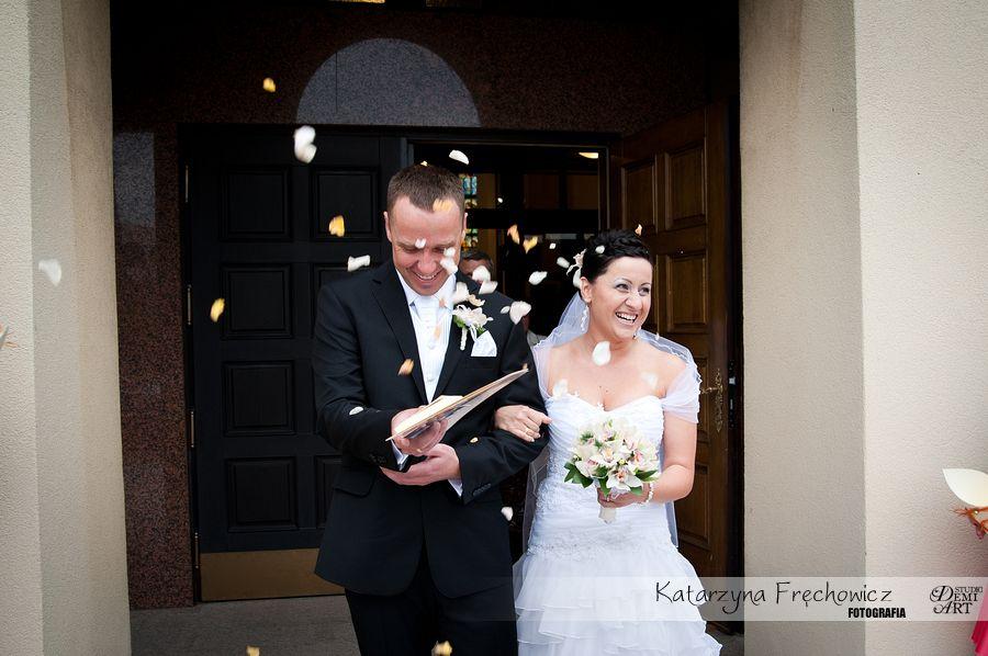 DSC_328 Reportaż ślubny - przygotowania i ceremonia :)