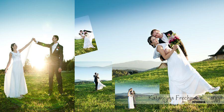 07_DiS Plener ślubny w górach o zachodzie słońca