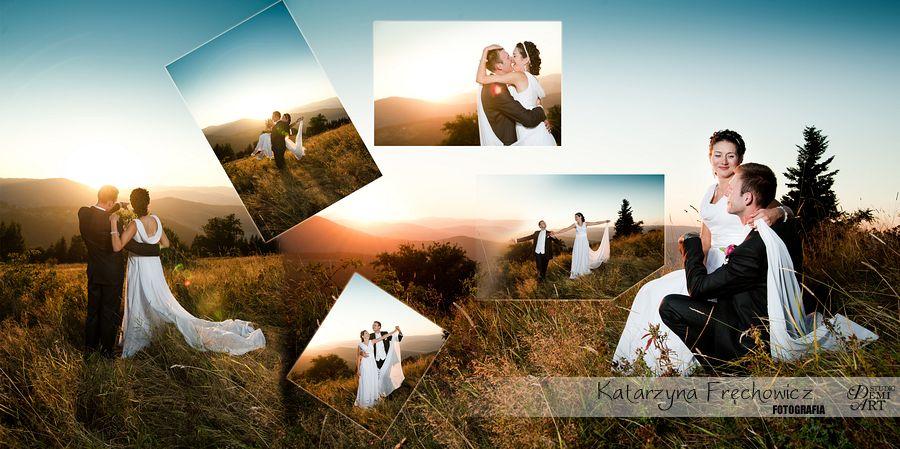 08_DiS Plener ślubny w górach o zachodzie słońca