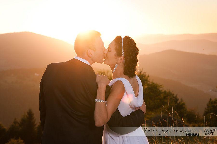 DSC_5653 Plener ślubny w górach o zachodzie słońca