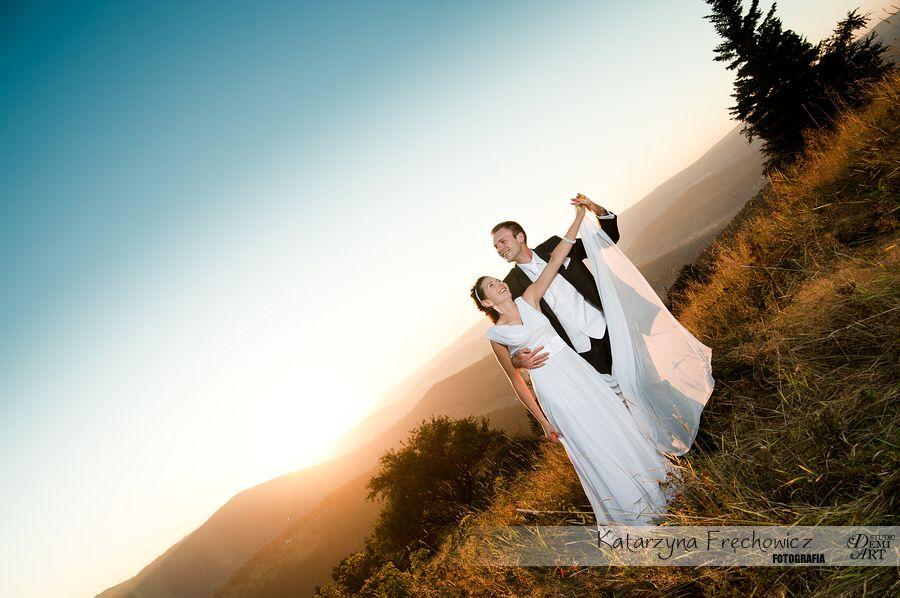 DSC_5656 Plener ślubny w górach o zachodzie słońca