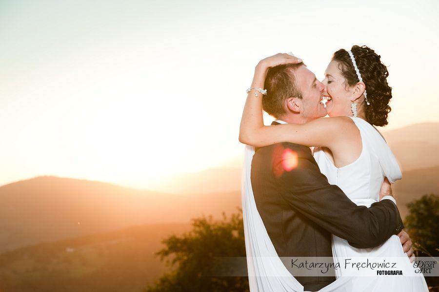 DSC_5662 Plener ślubny w górach o zachodzie słońca