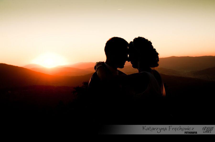DSC_5683 Plener ślubny w górach o zachodzie słońca