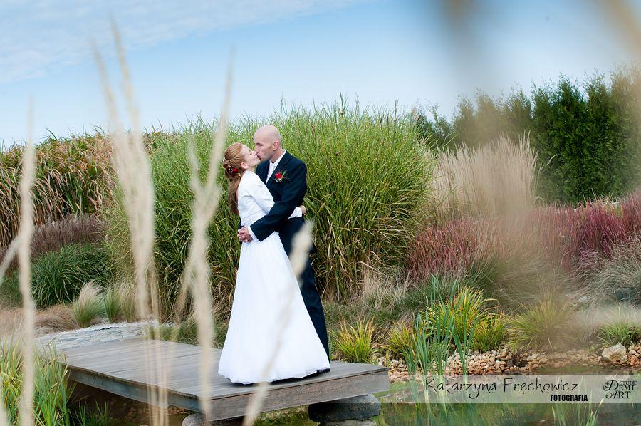 DSC_870 Plener ślubny w ogrodach ... jesiennie