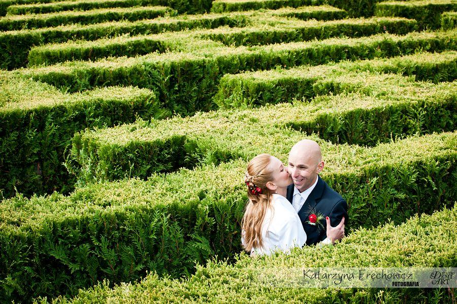 DSC_903 Plener ślubny w ogrodach ... jesiennie