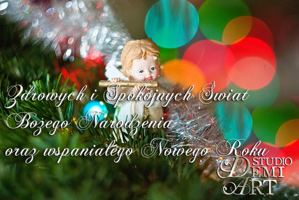 Kartka-kopia Wesołych Świąt