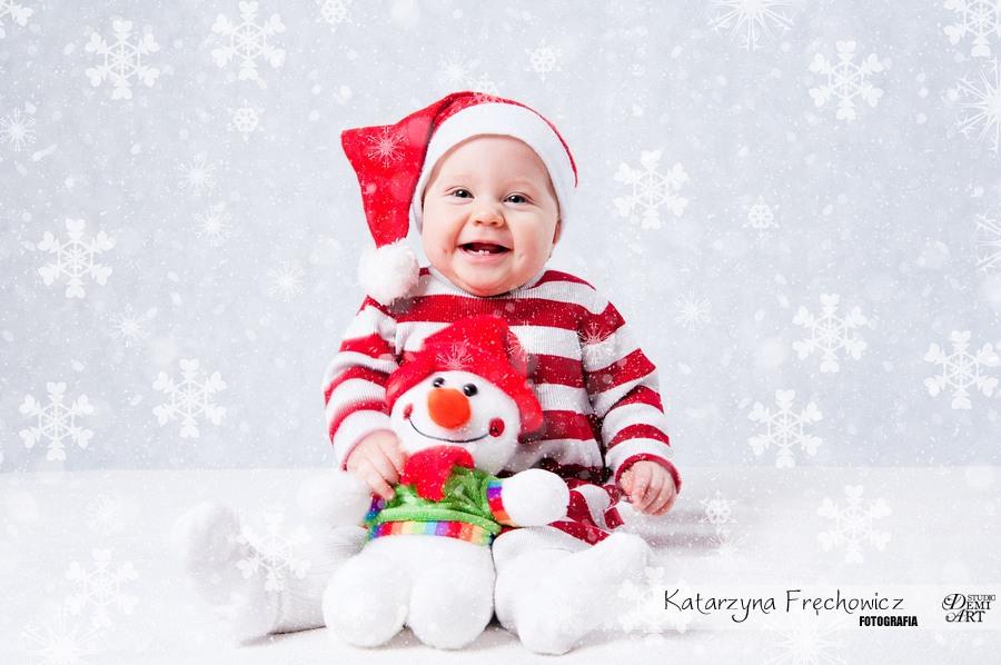 Kala_20 Sesja niemowlęca i świąteczna