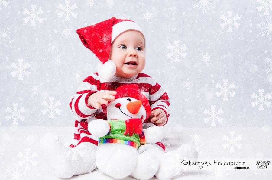 Kala_21 Sesja niemowlęca i świąteczna