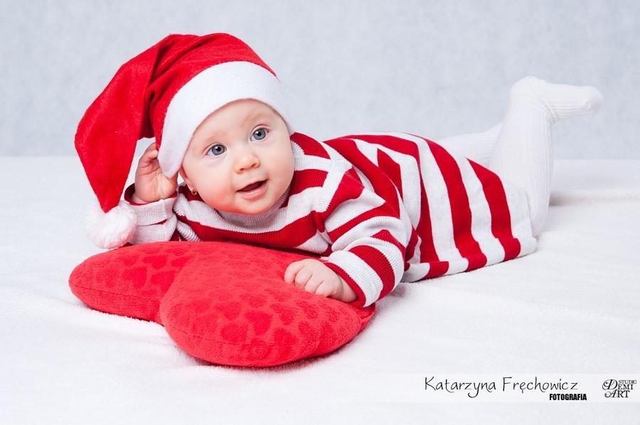 Kala_23 Sesja niemowlęca i świąteczna