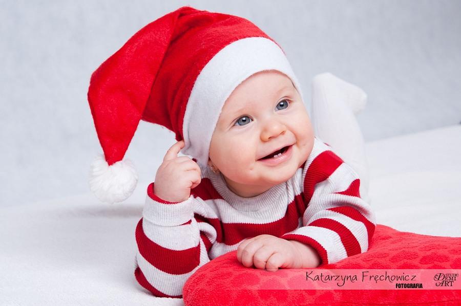 Kala_25 Sesja niemowlęca i świąteczna