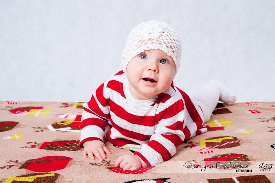 Kala_33 Sesja niemowlęca i świąteczna