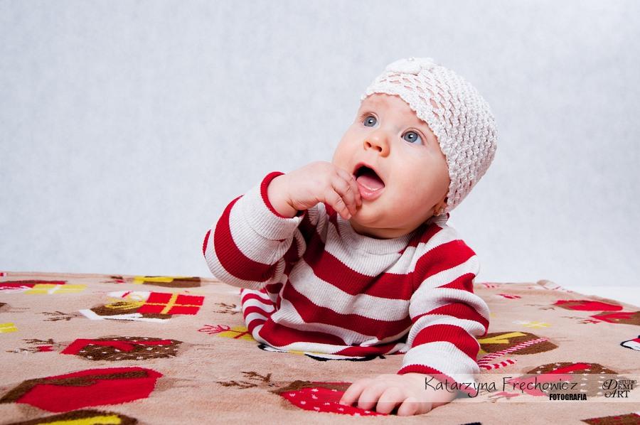 Kala_36 Sesja niemowlęca i świąteczna