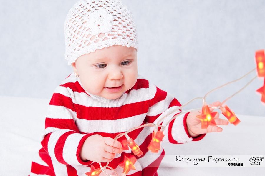 Kala_45 Sesja niemowlęca i świąteczna