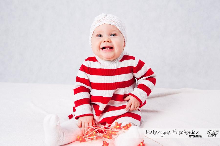 Kala_48 Sesja niemowlęca i świąteczna