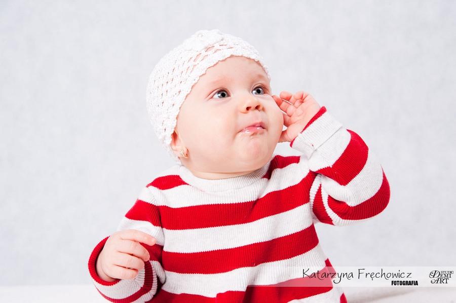 Kala_49 Sesja niemowlęca i świąteczna