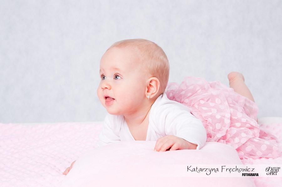 Kala_52 Sesja niemowlęca i świąteczna